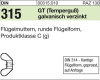 DIN315 M4