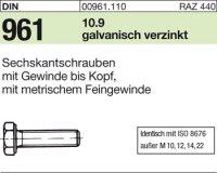 DIN961 M10x1x35