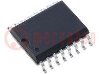 Aislador digital; de uso general; 10Mbps; 2,7÷5,5VCC; SMD; SO16-W