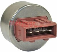 Pressure Switch, air conditioning, METZGER, 0917275