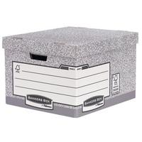 Fellowes Bankers Box Heavy Duty Large Storage Box Ref 181201