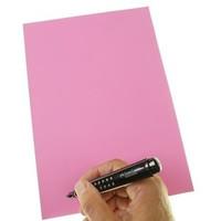 stattys Folien-Haftnotizen PP XL (A4) pink 21x29,7cm 50 Blatt
