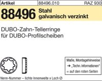 DUBO-Zahntellerringe 412-24,5x15,5