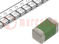 Drossel: Ferrit; SMD; 0603; 1uH; 25mA; 0,6Ω; ftest:10MHz; IRes:75MHz
