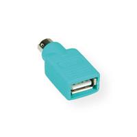 VALUE PS/2 - USB Maus-Adapter, grün