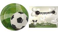 """PAPSTAR Pappteller """"Football"""", Durchmesser: 230 mm (6481637)"""
