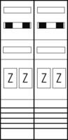 Zählerplatz eHZ 4Z mit HS/OKK EZ27840