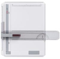 Zeichenplatte Profil, A4, schlagfester Kunststoff, hellgrau, Karton 1St