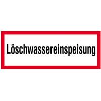 Modellbeispiel:, Hinweisschild, Löschwassereinspeisung, Art. 11.2578