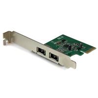 StarTech.com 2-poorts 1394a PCI Express FireWire-kaart PCIe FireWire-adapter