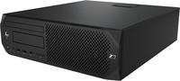 HP Z2 G4 i7-8700 SFF Intel® 8de generatie Core™ i7 16 GB DDR4-SDRAM 256 GB SSD Windows 10 Pro Workstation Zwart