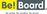 Be!Board Große Glas-Magnettafel / Whiteboard, 1200x90 cm, weiß
