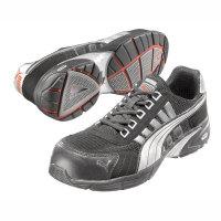 Sicherheitsschuhe PUMA Safety Shoes S1P, Halbschuh, schwarz-silber, Gr. 39 - 48 Version: 44 - Größe 44