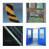 Wandmarkierungsfolie Safety-Wall SG 50 mm x 25 m linksweisend /Wandflächen im Innen-+ Außenbereich