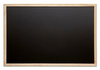 Chalk Board with Wooden Frame