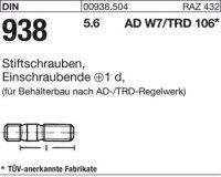 DIN938 5.6 M16x35