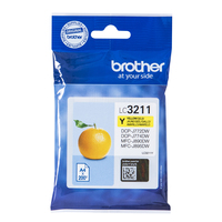 Brother LC-3211Y cartouche d'encre Original Jaune