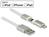 USB Daten- und Ladekabel für Apple und Micro USB Geräte 1 m weiß, Delock® [83773]