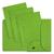 ELBA Paquet de 25 sous dossiers 2 rabats HV vert tilleul, kraft 240g