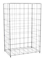 CWS Stainless Steel Großraum-Papierkorb, Edelstahl, 60 l Bild1