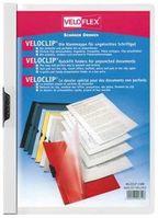 Veloflex VELOCLIP Klemmmappe A4 weiss