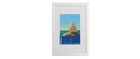Photo frame aluminum 10x15 cm