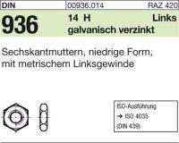Sechskantmuttern M27-LH