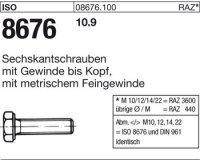 ISO8676 M10x1x25