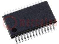 Microcontroller PIC; EEPROM:256B; SRAM:1024B; 32MHz; SMD; SSOP28
