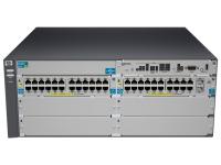 HP ProCurve 5406-44G-PoE+-2XG v2 zl Managed L3 Gigabit Ethernet (10/100/1000) Grey 4U Power over Ethernet (PoE)