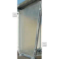Seitenwand Polyester transparent f.Überdachungseinheit B4300xT2500