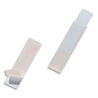 DURABLE Sachet 10 Pochettes adhésives Pocketfix H22 x L81 mm - ouverture latérale - Transparent