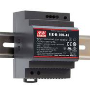 MEAN WELL HDR-100-24 alimentatore per computer 92 W Acciaio inossidabile
