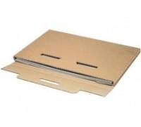 Kalenderverpackung DIN A3, 420 x 310 x 10 mm braun