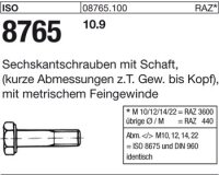 ISO8765 M20x1,5x110