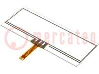 Érintőpanel; Mér:93,8x37,7mm; Ablakméret:90x24mm; PIN:4