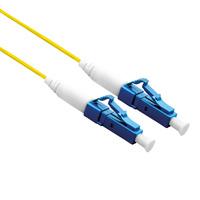 ROLINE Glasfaserkabel 9/125µm, OS2, LC/LC Stecker, LSOH, simplex, gelb, 1,0 m