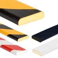Kantenschutz Schutzprofile, Flächenschutz Rechteck 40/11 Typ F, gelb/schwarz, 100x4x1,1cm