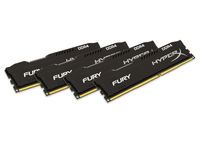 FURY 16GB 2666MHz DDR4 Kit 4 DDR4