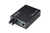 DIGITUS Media Converter. Multimode 10/100/1000Base-T to 1000Base-SX. Incl. PSU