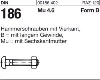 Hammerschrauben BM6x50