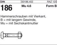 Hammerschrauben BM10x25