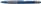 Kugelschreiber Loox, Druckmechanik, M, blau, Farbe des Schaftes: blau-metallic