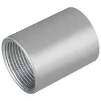 Fränkische Aluminium-Gewindemuffe AMG-E, Ø mm - Zoll 40 mm