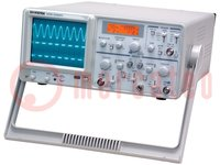Oscilloscoop: analoge; Bandbreedte: ≤30MHz; Kanalen:2; 300V
