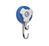 Double hook magnet caroussel blue