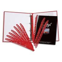 5 ETOILES Paquet de 100 bandes perfor�es porte- revues MAGI CLIP