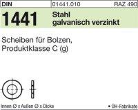 Scheiben für Bolzen 9x16x2