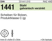 Scheiben für Bolzen 25x38x4