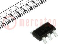 Tranzisztor: N/P-MOSFET; egysarkú; -20/20V; -4,5/3,1A; 1,1W